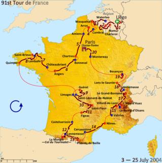 2004 Tour de France cycling race