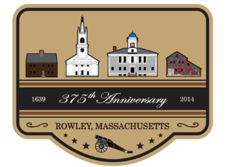 Rowley, Massachusetts celebrated its 375th anniversary in 2014
