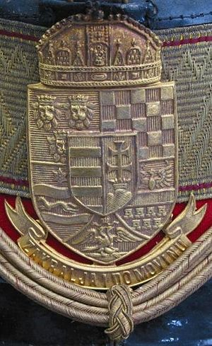 Royal Croatian Home Guard - Home Guard Cap Badge