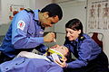 Royal Navy Medics Treating a Patient MOD 45155652.jpg