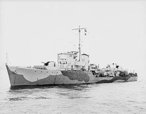 Royal Norwegian Destroyer Eskdale. A16086.jpg