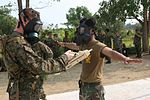 Royal Thai Nuclear Biological Chemical Specialists, U.S. Chemical Biological Radiological Nuclear Marines Exchange Expertise During Cobra Gold 09 DVIDS150243.jpg