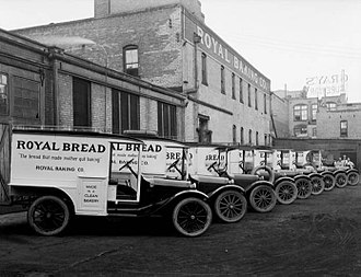 Dodge - Dodge Brothers delivery trucks, Salt Lake City, 1920