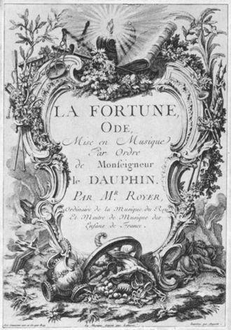 Joseph-Nicolas-Pancrace Royer - Image: Royer la Fortune (1747)