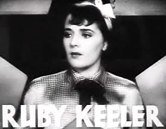 Dames - Image: Ruby Keeler in Dames trailer