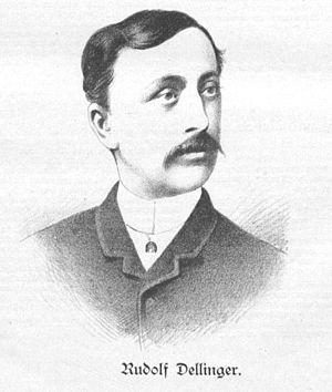 Rudolf Dellinger - Rudolf Dellinger, pictured in 1890