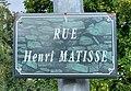 Rue Henri Matisse (Belley), panneau.jpg