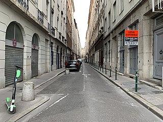 thoroughfare in Lyon, France