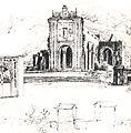 Ruinas de la iglesia de la Santísima Trinidad en Caracas - Ferdinand Bellermann.JPG