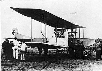 Rumpler G.I - The Rumpler 4A 15 - prototype of the G.I