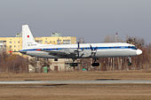 Russian Air Force Ilyushin Il-18D at Kharkiv Airport.jpeg