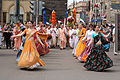 Russian Hare Krishna devotees on Harinam.jpg