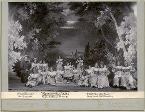 Rymmerskan, Vasateatern 1900. Föreställningsbild - SMV - H13 006.tif