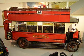 London General Omnibus Company - S742, a preserved London General liveried bus