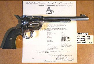Colt Single Action Army - Colt Single Action Battle of Britain