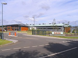 Scottish Agricultural Science Agency - The newly built SASA headquarters in 2007
