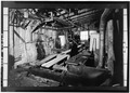 SAWMILL, INTERIOR LOOKING NORTH - Ben Schroeder Saddle Tree Company, 106 Milton Street, Madison, Jefferson County, IN HAER IND,39-MAD,43-19.tif