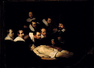 Anatomical lesson of Dr. Nicolaas Tulp (after Rembrandt)