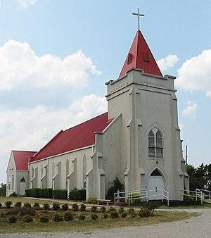 Sacred Heart, Oklahoma - Sacred Heart Church