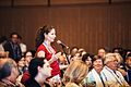SCAR2016 Wikibomb event - Panel discussion question from audience.jpg