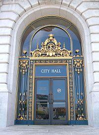 SF City Hall door. & Key:entrance - OpenStreetMap Wiki
