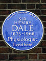 SIR HENRY DALE 1875-1968 Physiologist lived here.jpg