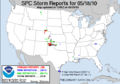 SPC Storm Reports 20100518.png