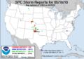 SPC Storm Reports 20100518.png