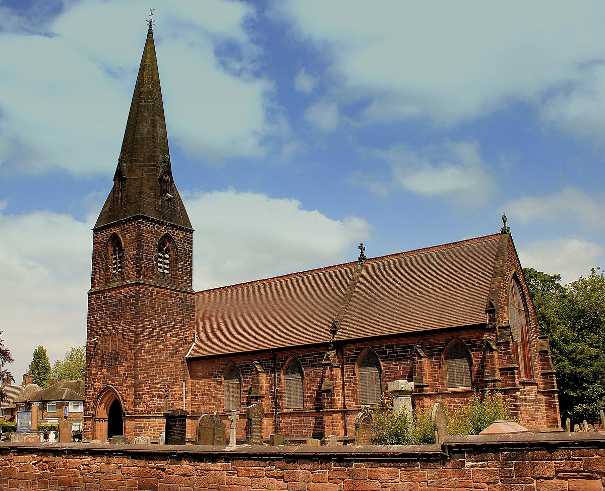 All Saints Church Speke Wikipedia