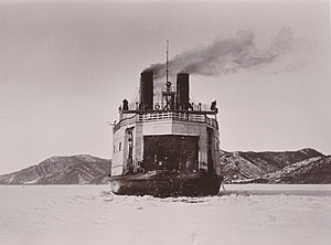 Stepan Makarov - SS Baikal in service on Lake Baikal