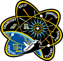 STS-134 Flight patch