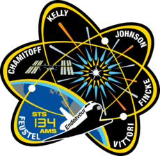 STS-134 crew patch. Image: NASA / Crew of STS-134.
