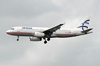 SX-DVH - A320 - Olympic Air