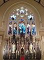 Sacred Heart Cathedral - Davenport, Iowa reredos.JPG