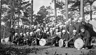 """Sailor cap - US sailors in """"dixie cup"""" caps"""