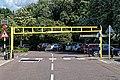 Sainsbury's car park height restriction barrier, Chingford, London, England 1.jpg