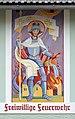 Saint Florian by Franz Weiss, fire station, Fischbach, Styria.jpg