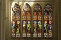 Saint Maixent l'École-Abbatiale Saint Maixent-Vitraux du choeur-20110307.jpg
