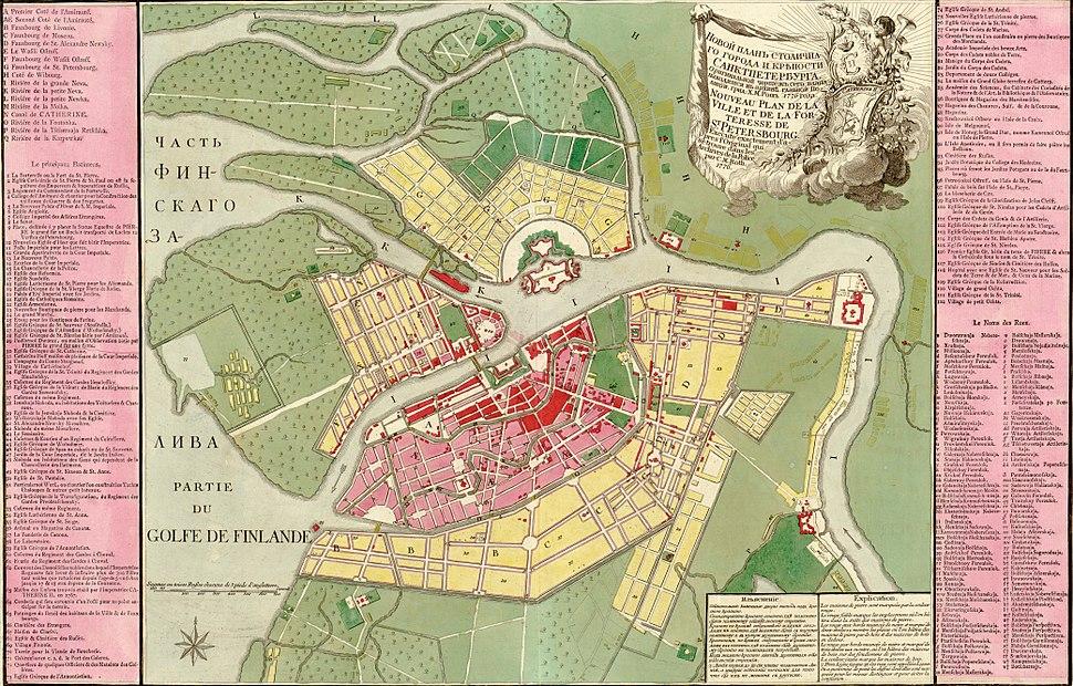 Saint Petersburg 1776 map LOC g7064s ct001468