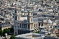 Saint Sulpice from the Tour Montparnasse, Paris May 2014.jpg