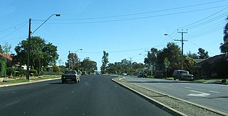 Salisbury Highway - Image: Salisbury hwy, para gardn