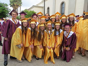 Salpointe Catholic High School - A selection of students from Salpointe's graduating class of 2015