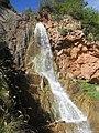 Salto de agua en la ruta que va desde Villalangua a Salinas Viejo ( Huesca ) . - panoramio.jpg