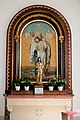 Salzburg - Itzling - Pfarrkirche St. Antonius Seitenaltar rechts - 2019 08 01.jpg