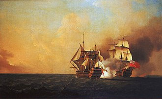 Military history of Canada - Duc d'Anville Expedition: HMS ''Nottingham'' and the Mars
