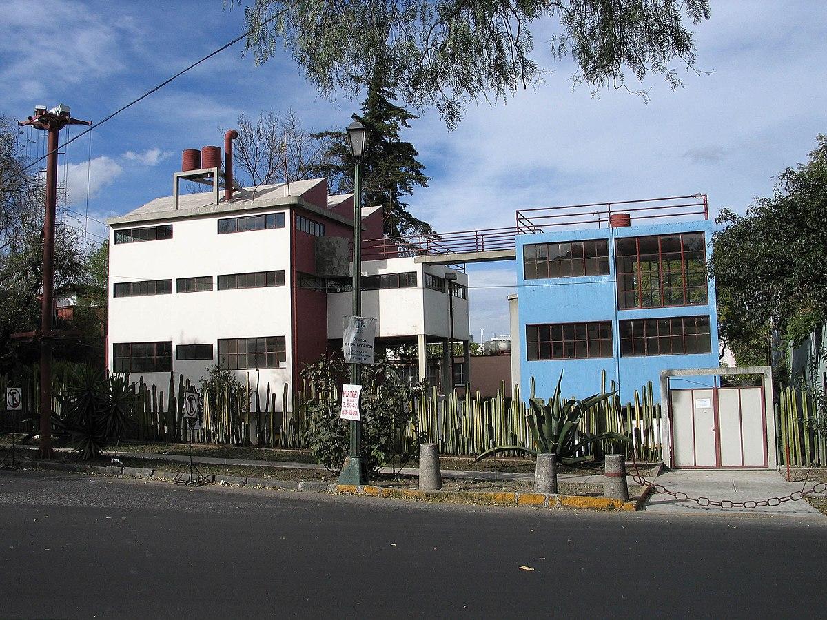 Museo Casa Estudio Diego Rivera y Frida Kahlo - Wikipedia, la ...