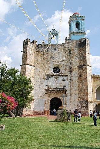 Huaquechula - Former monastery of San Martín de Tours