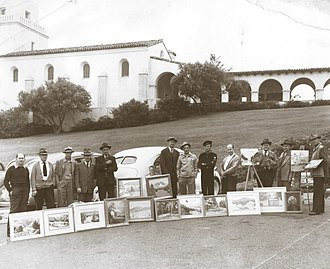 San Diego Art Institute - The original San Diego Business Men's Art Club, circa 1947