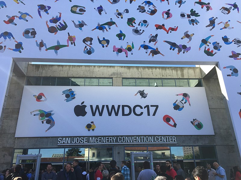 Fil:San Jose Convention Center main entrance, WWDC17.jpg