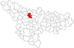 Vị trí của Sânandrei